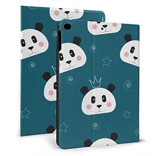 N\A Niño iPad Cover Cute Carton Panda Face Animal iPad Air Protective Cover para iPad Mini 4 / Mini 5/2018 6th / 2017 5th / Air/Air 2 con Auto Wake/Sleep Estuche iPad magnético