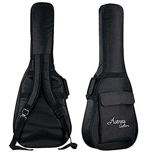 Custodia impermeabile in nylon Oxford Custodia rig imbottita per chitarra classica Chitarre acustiche e classiche Impermeabile antiurto