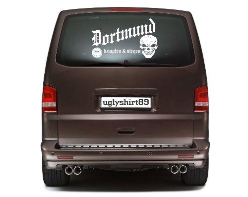 Dortmund Autoaufkleber 45 cm | Fussball | Hardcore | Sticker | Aufkleber | KSM1