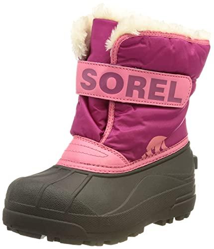 Sorel Dziecięce buty sportowe uniseks dla dzieci, Czerwony tropik różowy głęboki róż - 25 EU