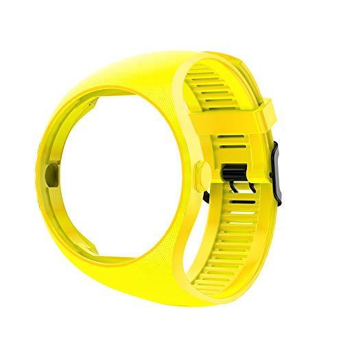 Ixkbiced Pulsera de Silicona Suave de Color sólido Correa de muñeca para Reloj Inteligente Polar M200