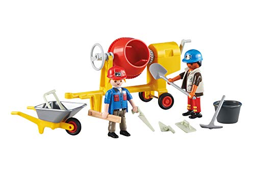 Playmobil ref. 6339. Obreros de la construccion