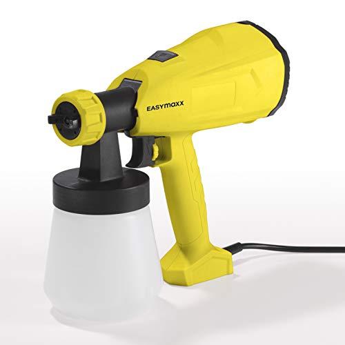 EASYmaxx 04545 elektrisch verfpistool | verfspuitpistool | verfpistool | tuin verfspuitsysteem | Airbrush-pistool | 350 Watt | 700 ml