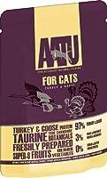 AATU アートゥー キャット ターキー&グース 85g (キャットフード ウェット 猫用総合栄養食) 全猫種成猫