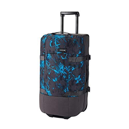 Dakine Unisex Split Roller EQ Bag 75L, Unisex, Reisetaschen mit Rädern., 10002943, Cyan Scribble, Einheitsgröße