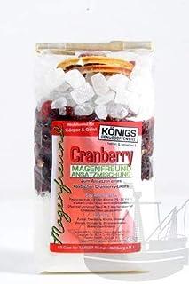 Magenfreund Ansatzmischung Cranberry, 500g, zum Ansetzen, ohne künstl. Zutaten, Cranberry-Likör, Likör selber machen - Bremer Gewürzhandel