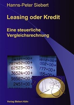 Leasing oder Kredit : B�cher