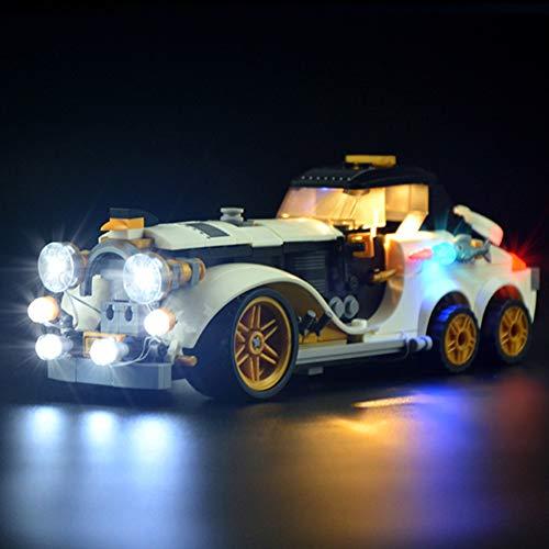 Nlne Conjunto De Luces para (Batman Movie Arrollador Ártico De The Penguin) Modelo De Construcción De Bloques - Kit De Luz LED Compatible con Lego 70911 (NO Incluido En El Modelo)