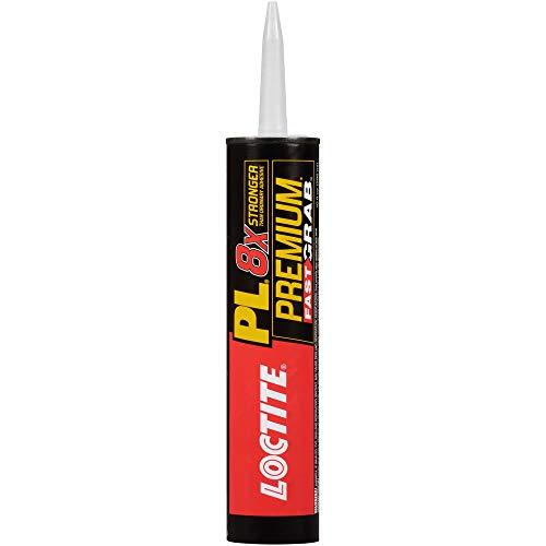 Loctite PL Premium Fast Grab Polyurethane Construction Adhesive 10-Ounce Cartridge (1417170)