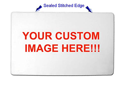 Personalized Custom Playmat w/ STITCHED EDGE Any image you want by Tictaktoys