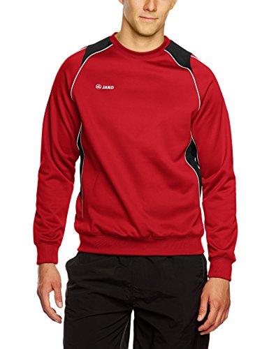Jako Attack 2.0 Sweat-shirt à capuche pour homme Multicolore Rouge/Noir XX-Large