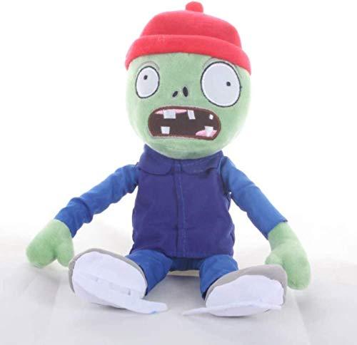 SongJX-Love Pflanzen vs Zombies Plüschtiere 30 cm, Eislaufen Zombie-Puppe weiche gefüllte Spielzeug Geschenke für Kinder Kinder Gzzxw