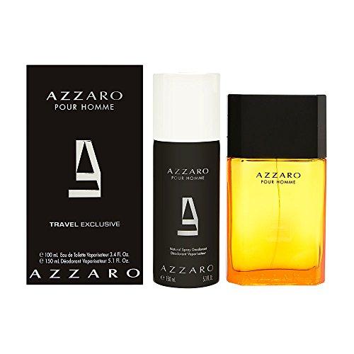 Azzaro Pour Homme Eau De Toilette 100 ml y desodorante Spray 150 ml Giftset para él