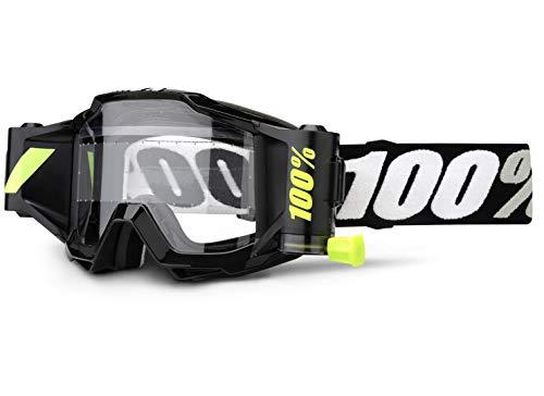 100% Accuri Forecast Brille Tornado, Schwarz, One Size
