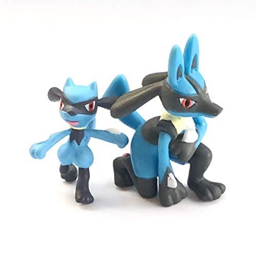 Pokemon Figures Lucario Toys 3-6Cm, Action Figure Children Collectible