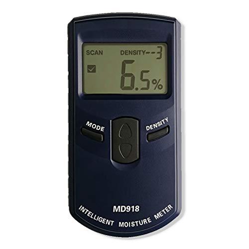 AMTAST Pinless Nicht-invasiver Feuchtigkeitsmessgerät Digitaler Holzfeuchtemessgerät mit LCD-display feuchtigkeits-detector Feuchtemesser für Holz Brennholz, Messbereich 4{c874653f3cfa897acd889239f5c91d06d78293df3b3674be87cd8100ac77149a} ~ 80{c874653f3cfa897acd889239f5c91d06d78293df3b3674be87cd8100ac77149a} rF, Auflösung 0.5{c874653f3cfa897acd889239f5c91d06d78293df3b3674be87cd8100ac77149a}