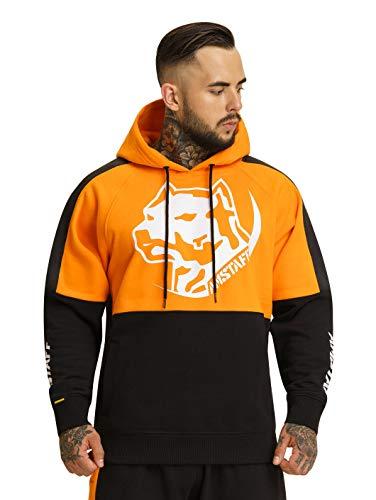 Amstaff Männer Dozer Hoodie Kapuzenpullover Orange M