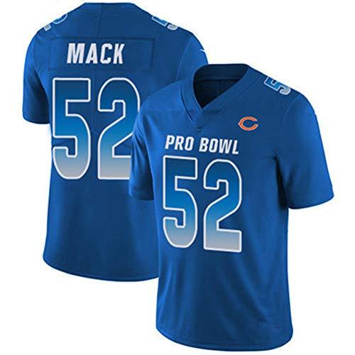 52# Mack Bears für Herren American Football Ruby Trikots (Unisex, Jugendliche/Erwachsene) - Fügen Sie Ihre Mannschaft, Namen und Nummer hinzu, All Star Top Nizza Gr. XXL, farbe
