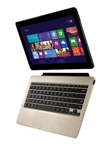 Asus VivoTab Bundle TF810C-1B026W 29.46 cm (11.6 Zoll) Convertible Tablet PC (Intel Atom Z2760 1,8GHz, 2GB RAM, 64GB eMMC, Touchscreen, Windows 8) grau inkl. Docking