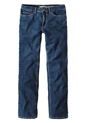 Paddocks Paddock's Ranger Jeans Herren, Dark Blue Stoned, Stretch Denim, Gerader Schnitt (W48/L32)