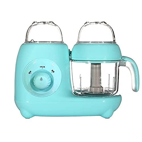 CHENSHJI Procesador de Alimentos Máquina para Suplementos De Alimentos para Bebés Máquina De Complemento De Alimentos Multifuncionales Máquina De Cocción (Color : Azul, Size : 28x25x15cm)