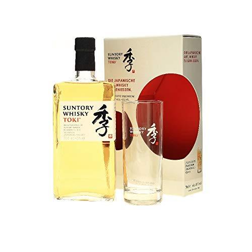 Suntory Whisky Toki Japanischer Blended Whisky Geschenkverpackung inklusiv Glas (1 x 0.7 l)