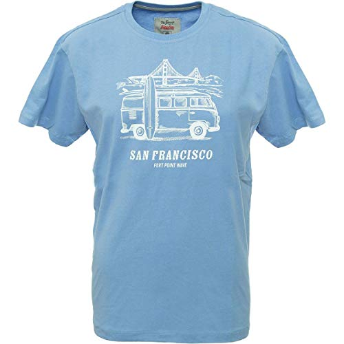 Van One Classic Cars San Francisco T-shirt fonctionnel pour homme - Bleu - X-Large