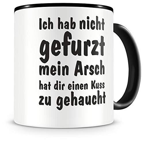 Samunshi® Ich hab nicht gefurzt. Tasse Kaffeetasse Teetasse Kaffeepott Kaffeebecher Becher