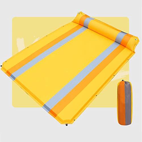XYZLEO Inflable Esterilla Camping Colchón Hinchable con Bolsa Portátil Resistente a Humedad para Viajes Senderismo Acampada