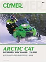 Clymer Service Manual for Arctic Cat 440, 550, 580, & 600