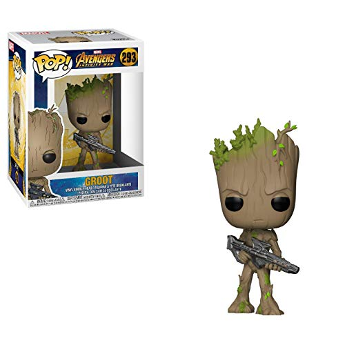 Funko 26904 Pop Marvel: Avengers Infinity War - Teenager Groot mit Pistole Collectible Figur