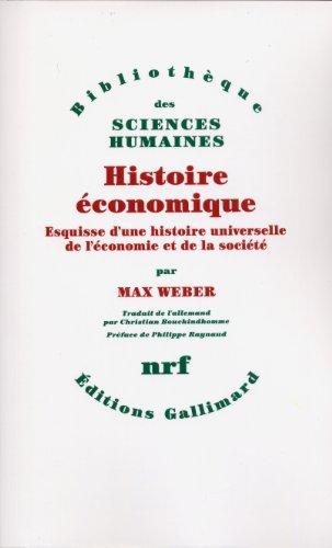 Histoire économique. Esquisse d'une histoire universelle de l'économie et de la société
