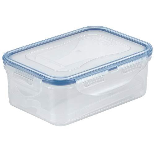 LocknLock PP Classic Butterdose, Für 250g Butter, Mit Butterablage, 100 {a25979e9f6ade22be63127cbc1a31bd3bee22e4773a1173a251f84433db09f0b} luft- und wasserdicht, 460 ml, 151 x 108 x 58, BPA-Frei, Cleveres Verschluss-System