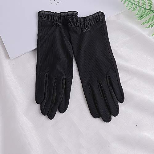 Guuisad Guantes de protección solar, guantes de conducción anti-ultravioleta, palmeras, diseño antideslizante, guantes para mujeres, guantes, mitones, sencillos y elegantes cómodos y agradables, liger