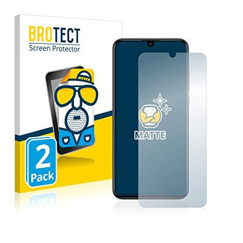 BROTECT 2X Entspiegelungs-Schutzfolie kompatibel mit Huawei P smart Plus 2019 Bildschirmschutz-Folie Matt, Anti-Reflex, Anti-Fingerprint