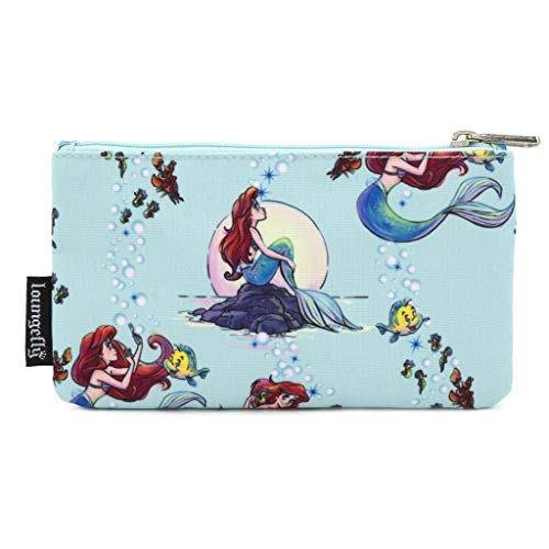 Loungefly Disney by Coin/make-up tas The Little Mermaid Ariel Scenes AOP