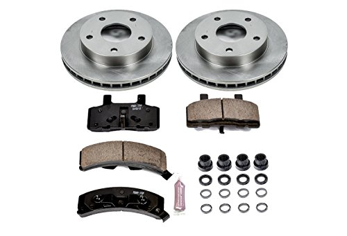 Autospecialty KOE2126 1-Click OE Replacement Brake Kit