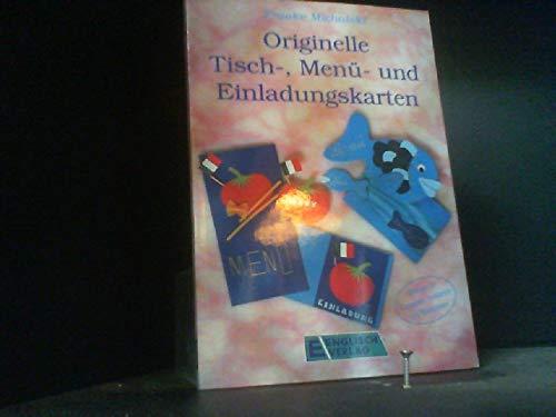 Originelle Tisch-, Menu- und Einladungskarten