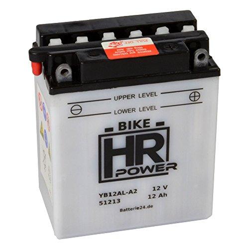 Motorrad Batterie Starterbatterie 12V 12Ah YB12AL-A2 51213