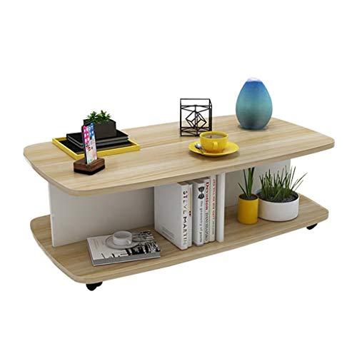 Tables Basse Simple dans Le Salon à Manger Simple Cuisine Petit Rack de Salon Amovible Chambre créative Petite Basse Bibliothèque d'étude Salon carrée Mobile