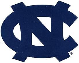 4 Inch UNC Blue Logo Decal University of North Carolina Tarheels Tar Heels NC Removable Wall Sticker Art NCAA Home Room Decor 4 by 3 Inches