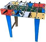 YAMMY Futbolín Mesa de fútbol para niños Juguete de Mesa Mesa de Juego Mesa Doble para Adultos Tipo de Mesa para Padres e Hijos Rompecabezas Grande Niño (Piscina)