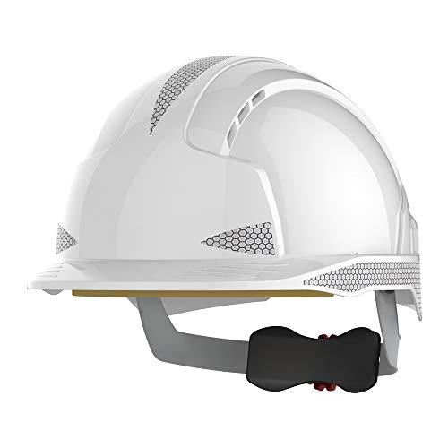 JSP Helm EVOLite CR2 AJB170–400–100, belüftet, weiß