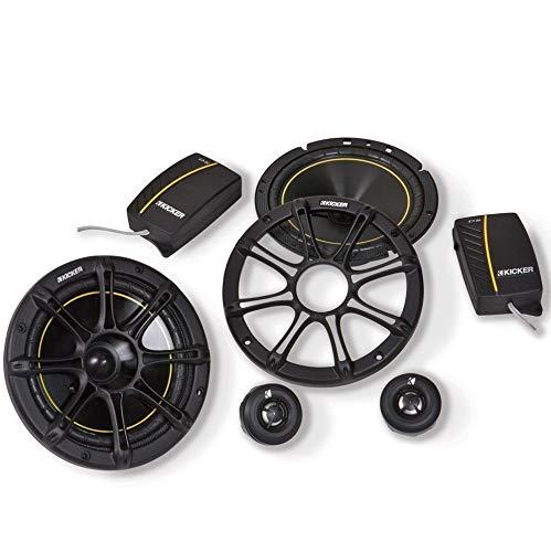 2 New KICKER DS652 6.5' 240W 2-Way 4-Ohm Car Audio Component Speakers...