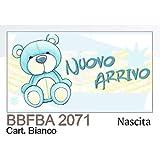 100 Stück Zettel Karte Bonboniere Geburt Kind Himmlisch mit Oder