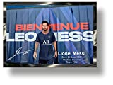 Bienvenue Leo Messi Premium 3D Impreso Firma Marco