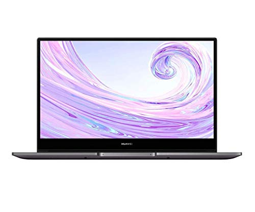 HUAWEI MateBook D 14 - 14 Inch Laptop with FullView 1080P FHD Ultrabook PC (AMD Ryzen 5, 8 GB RAM, 512 GB SSD, Windows 10 Home, Multi-screen Collaboration, Fingerprint Reader), Space Grey