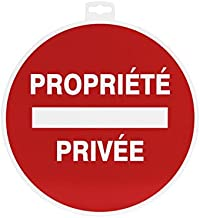 Provence Outillage 07508 bord voor privébezitters, 30 cm, rood