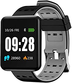 YXZQ Oximeter, Smart Watch-Waterproof Fitness Activity Tracker with Wearable Heart Rate Monitor/Oximeter/Blood Pressure Wr...