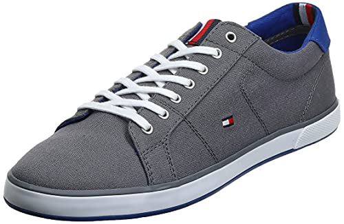 Tommy Hilfiger H2285arlow 1d, Zapatillas Hombre, Gris (Steel Grey 596), 45 EU